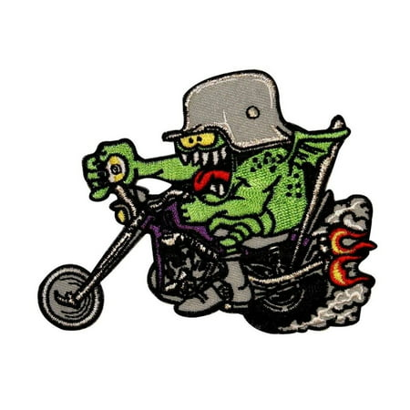 Kruse 9 Ball Chopper Patch Biker Motorcycle Monster Embroidered Iron On Applique