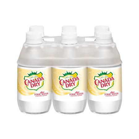 Canada Dry Diet Tonic Water, 6 pack, 10 fl oz