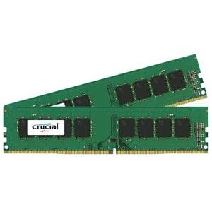 Crucial 32Gb  2X16gb  Ddr4 Sdram 2133 Mhz Unbuffered 288 Pin Dimm Memory Module