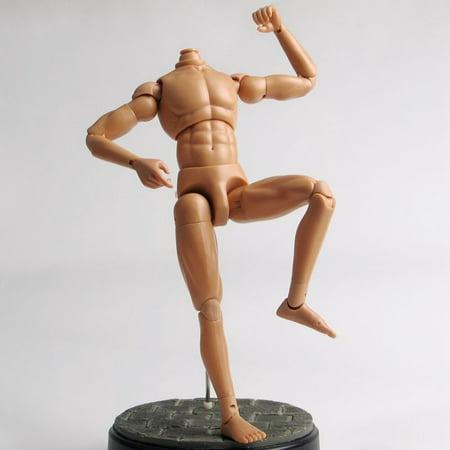 Male Nude Figure - 1/6 Scale 12