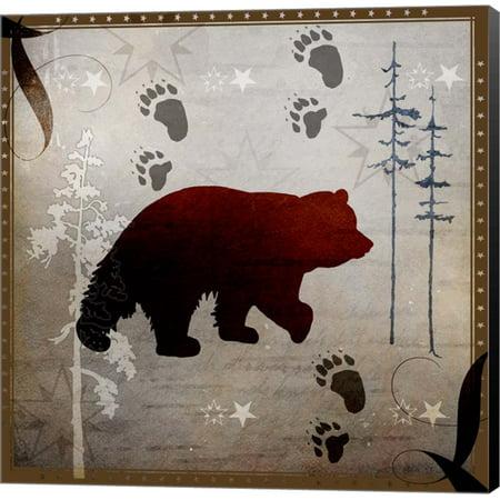Bear Tracks by LightBoxJournal, Canvas Wall Art