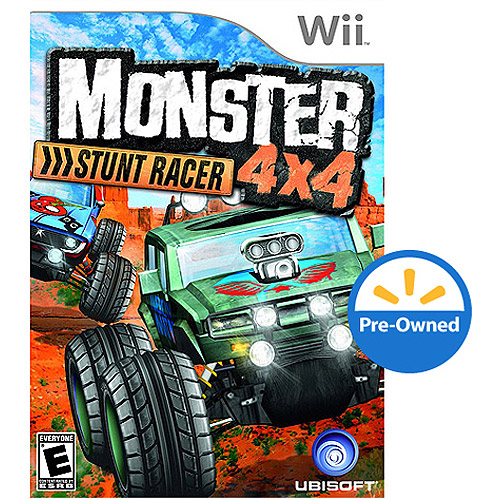 Monster 4X4: Stunt Racer - Game Only (Wii) - Pre-Owned