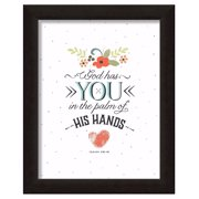 Framed Art-God Has You (10.5 x 13) (Trendy Typography Collection)