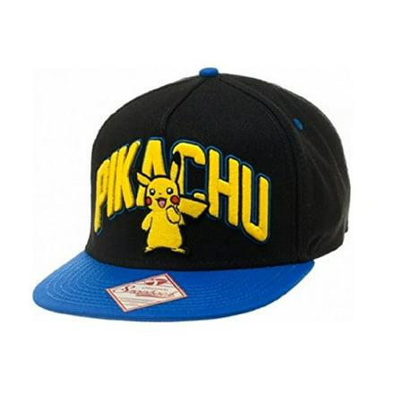 af738391e3f Pokemon Pikachu Snapback Hat - Walmart.com