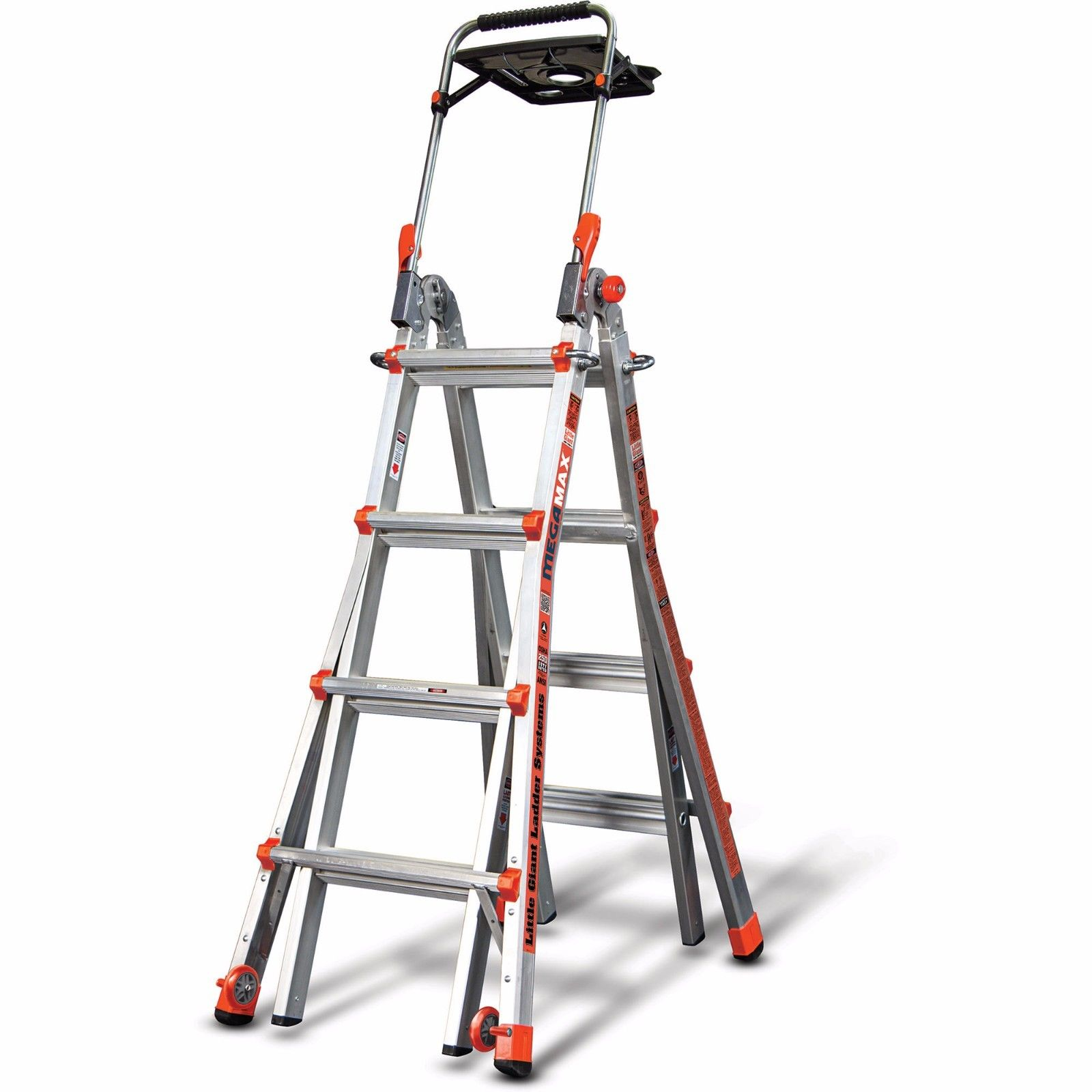 Little Giant MegaMax 17 Ladder w Air Deck by