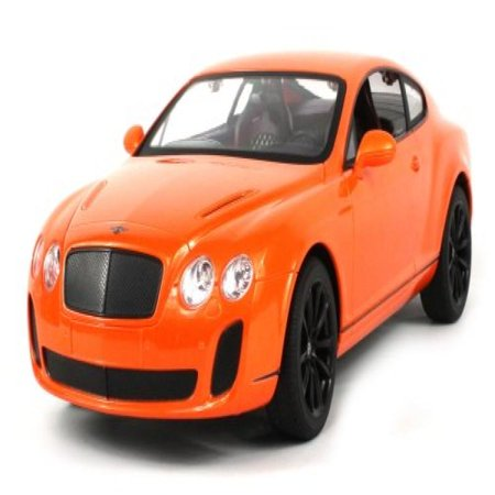 Rtr Art - Licensed Bentley Continental GT Supersports Electric RC Car 1:14 Scale Ready To Run RTR, Detailed Interior & Exterior (Colors May Vary)