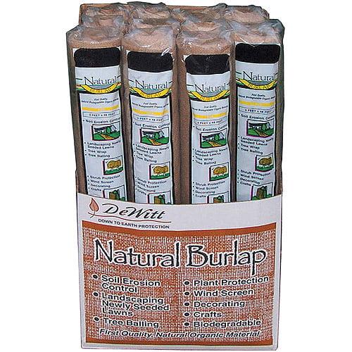 Dewitt NB324 3' x 24' Deluxe Natural Burlap