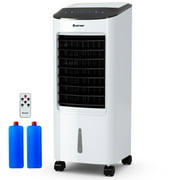 Costway Evaporative Portable Air Cooler Fan & Humidifier with Filter Remote Control