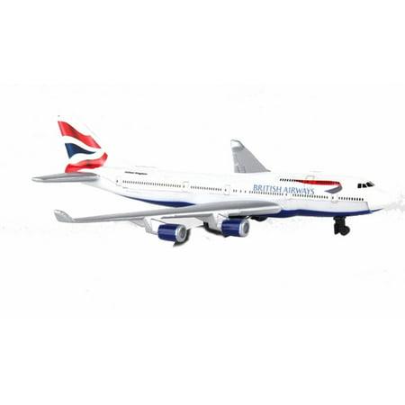British Airways Single Plane, White - Daron RT6004 - Diecast Model Airplane Replica (Daron Air Canada)