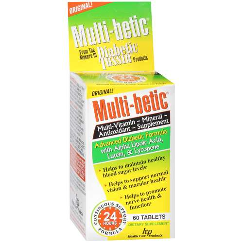 Multi-Betic: Dietary Supplement Multi-Vitamin Mineral Antioxidant, 60 Ct