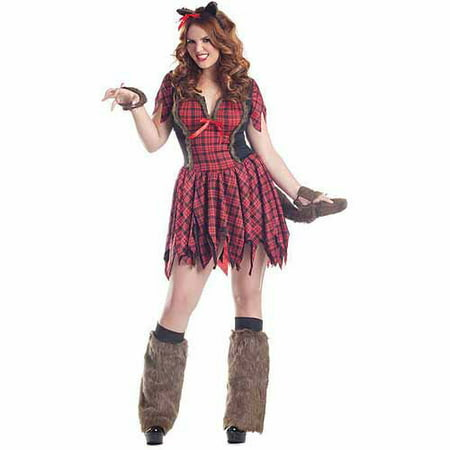 Werewolf Plus Size Adult Halloween Costume