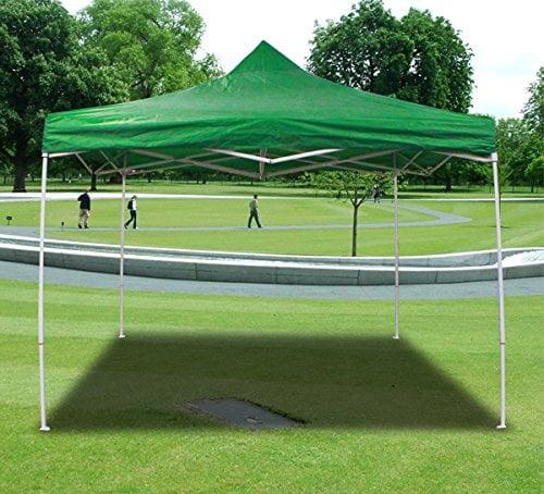 New MTN-G Deluxe Light Green EZ Canopy Pop Up Tent 10 X 10'