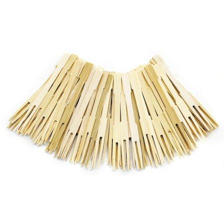 Norpro Bamboo Party Forks, 3.5