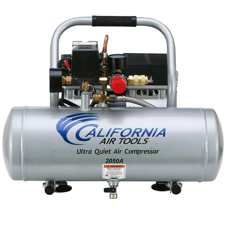 California Air Tools 2 Gallon Ultra Quiet/Oil-Free 0.5 Hp Air Compressor