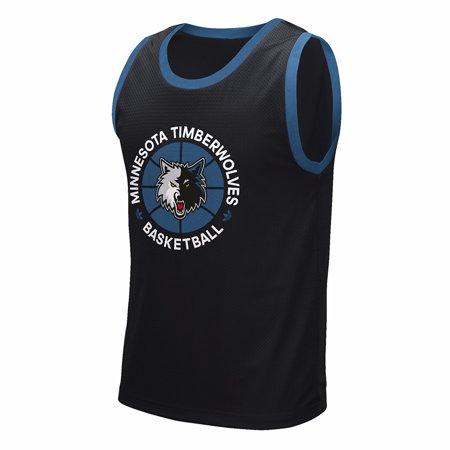 Hardwood Classics Vintage Tee - Minnesota Timberwolves NBA Adidas Black Adidas Originals Hardwood Classics Tank Top Shirt For Men (S)