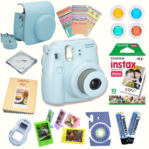 Fujifilm Instax Mini 8 Instant camera With Fujifilm Instax mini 8 instant films (10 pack) + A ...