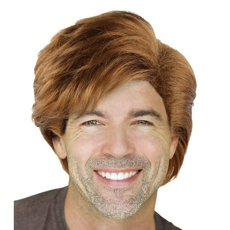 Cece Men's George Michael Style Cosplay Hair Wigs w/ Wig Cap for Costume Party Halloween Role Play