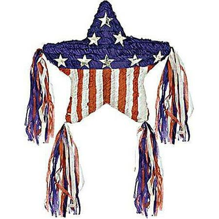 Patriotic Star Pinata