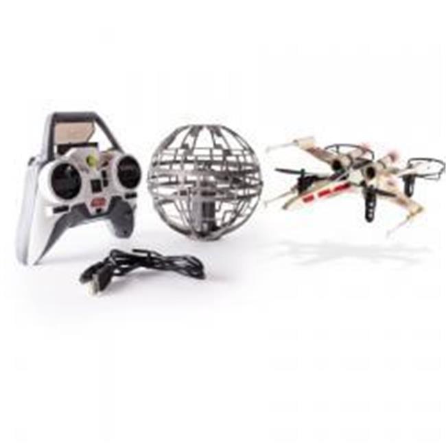 Air Hogs Star Wars Epic Death Star VS. X-wing Battle RC Drone Set by GrandGames