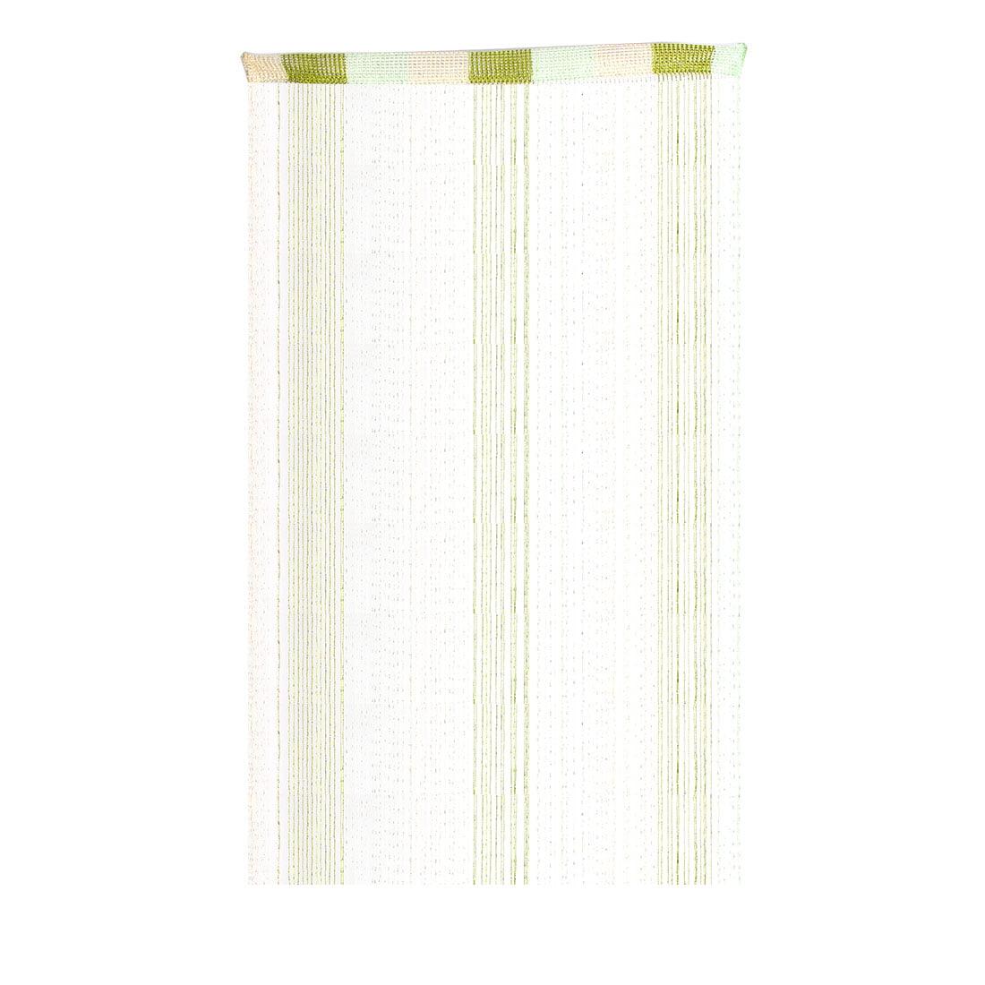 Door Sparkling Ribbon Flat Strip Tel Screen Decoration String Curtain Green