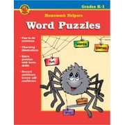 Word Puzzles Homework Helper, Grades K-1