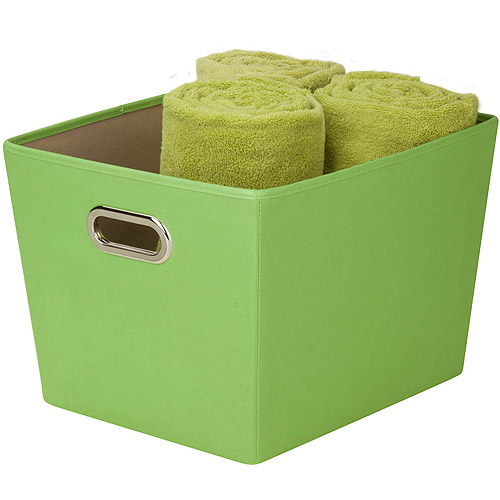 Honey Can Do Medium Decorative Storage Bin with Handles