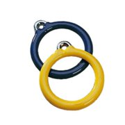 Jensen A172Y Commercial 6 in. Trapeze Plastisol Ring - Yellow