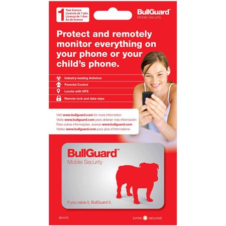 BullGuard Mobile Security 1 Year (Smartphones) (Digital (Best Mobile Security And Antivirus For Android)