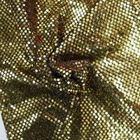 Faux Sequin Knit Fabric Shiny Dot Confetti for Sewing Costumes Apparel Crafts by the Yard (Royal Blue)