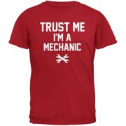 Trust Me Im A Mechanic Red Adult T-Shirt - X-Large