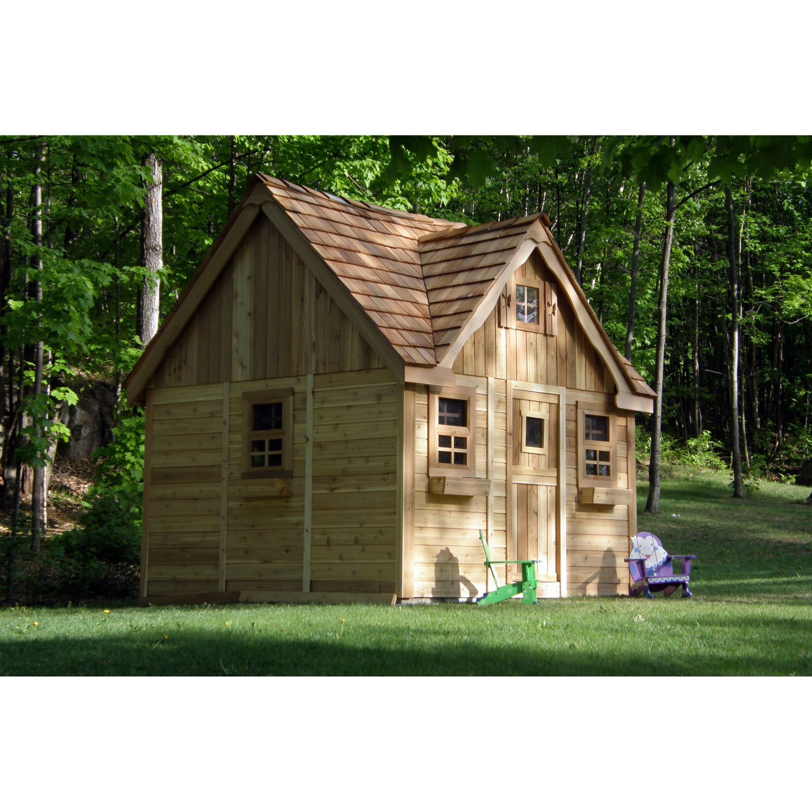 Laurens Cottage Playhouse by Outdoor Living Today