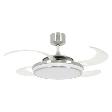 Fanaway Evo1 Prevail 48 In Indoor Ceiling Fan With Led Light And Remote Control