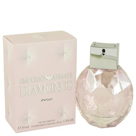 Giorgio Armani Emporio Armani Diamonds Rose Eau De Toilette Spray for Women 1.7 oz