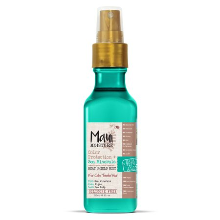 Maui Moisture Color Protection + Sea Minerals Heat Shield Mist, 4.2 FL OZ
