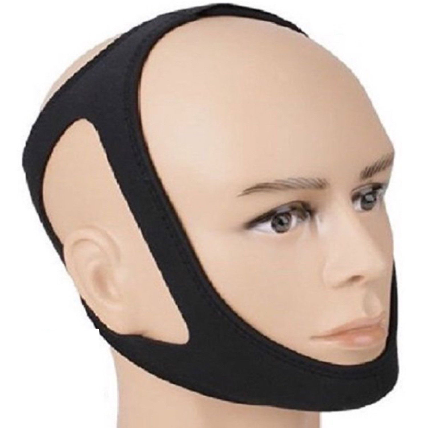 Anti Snore and Stop to Talk while sleeping ! Chin Strap Stop Snoring and Stopping Talking is Simple solution efficacious !