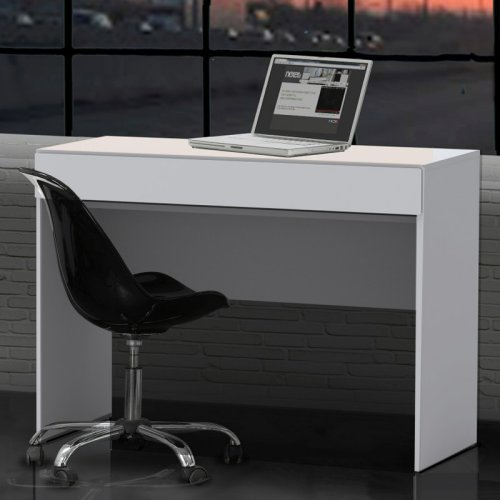 Nexera BLVD Computer Desk  with Keyboard Tray