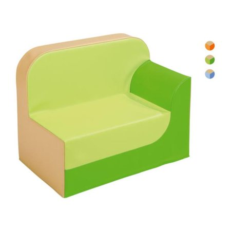 Wesco Na 35003 Armchair With Left Armrest 32 Cm   Beige Blue