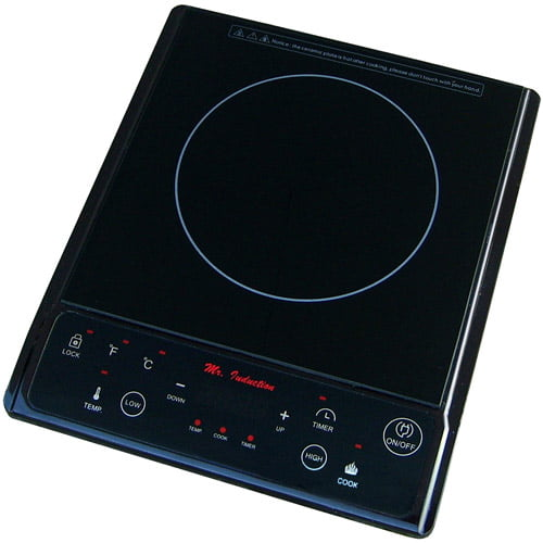 Sunpentown 1,300W Induction Cooktop, Black by Generic