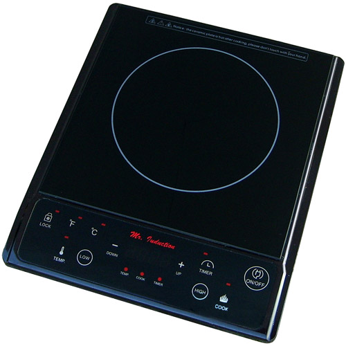 Sunpentown 1,300W Induction Cooktop, Black