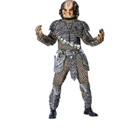 Rubie's Aliens Vs Predator Deluxe Predator Costume, Black, Standard Size (Quick Alien Costume)