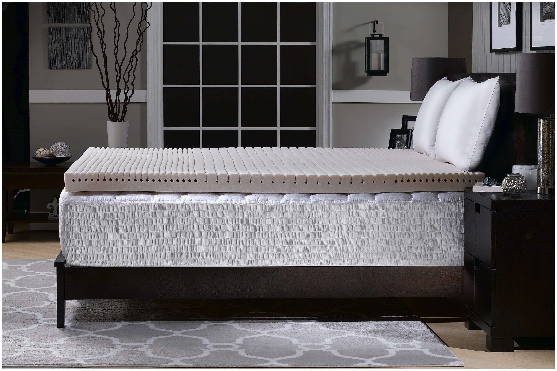"Simmons Beautyrest BigSleep 2.5"" Geo-Matt Foam Topper, Multiple Sizes by Hollander Sleep Products, LLC."