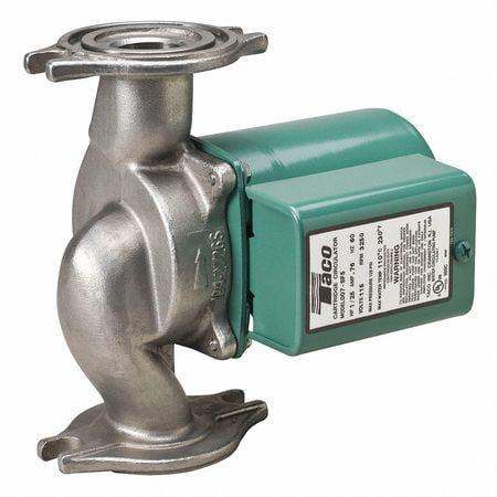 TACO Potable Circulating Pump,1/25HP,Flanged 007-SF5