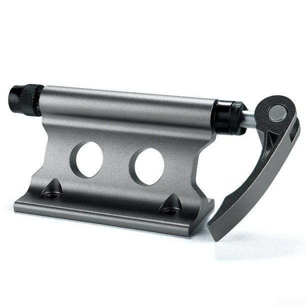 Car Bike Bicycle Bracket Mount Rack Quick-release Fork Lock Holder Fork Install