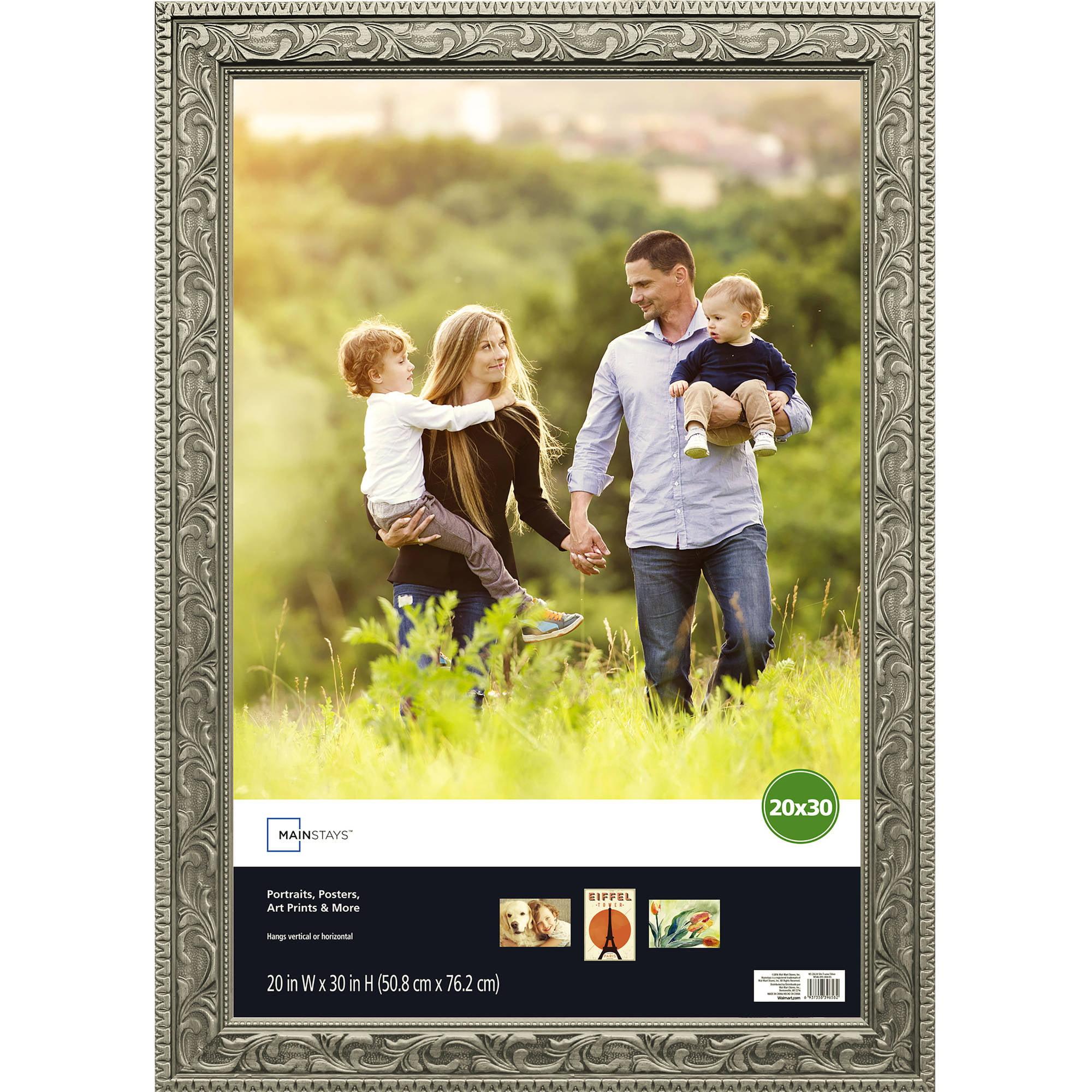 Mainstays 20x30 Silver Poster Frame - Walmart.com