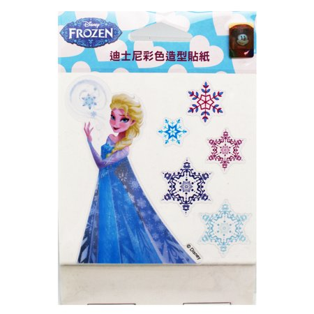 Disney's Frozen Princess Elsa and Snowflakes Reusable Stickers (6 Stickers)](Elsa Stickers)
