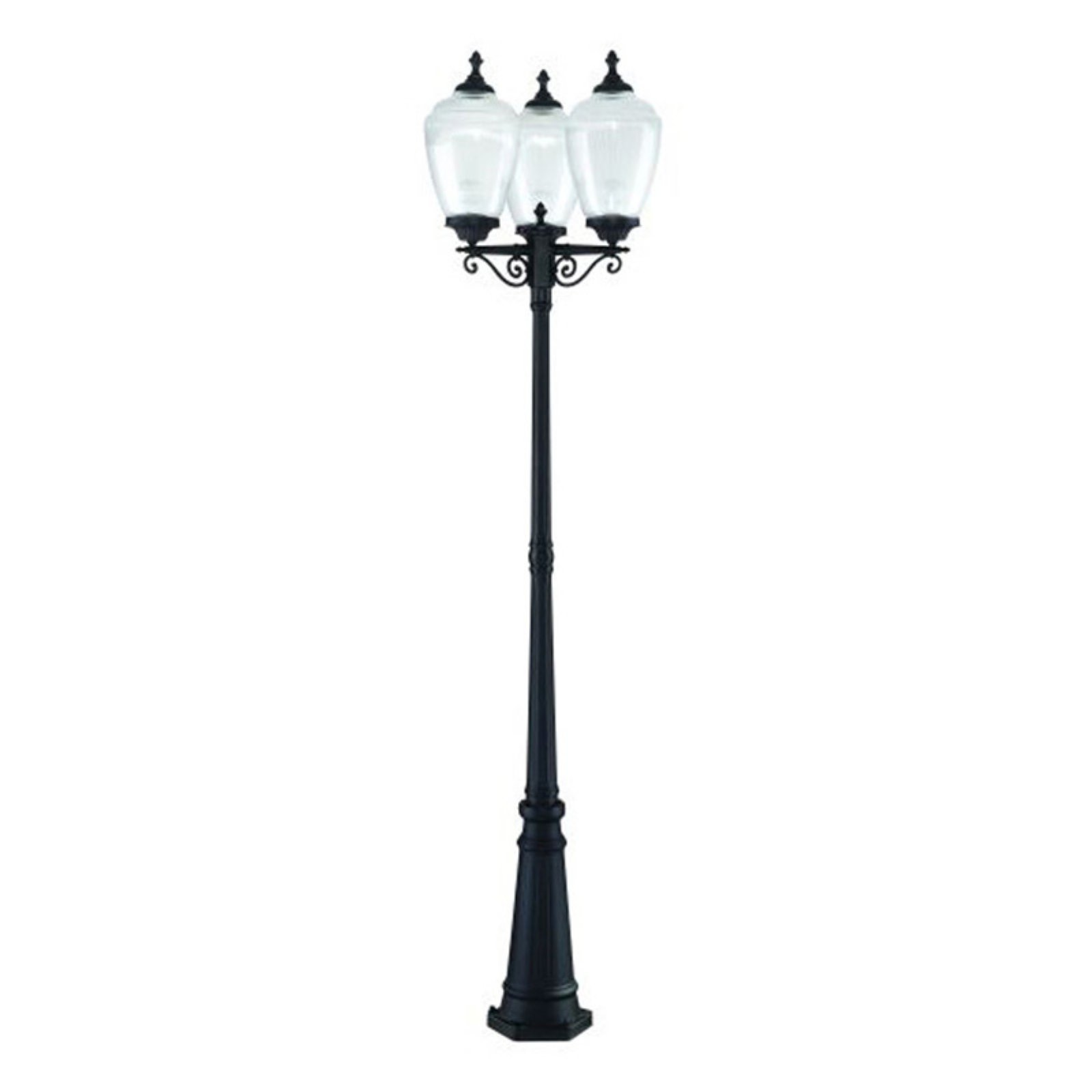 Acclaim Lighting Acorn 3 Head 3 Light Outdoor Post Combination