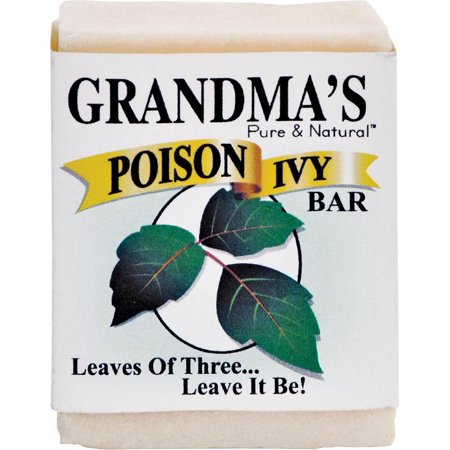 Grandmas Pure And Natural Grandmas  Poison Ivy & Oak Bar, 2.15 oz