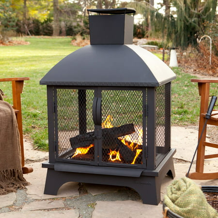 Landmann Fire Pits (Landmann 25722 Redford Wood Fireplace)