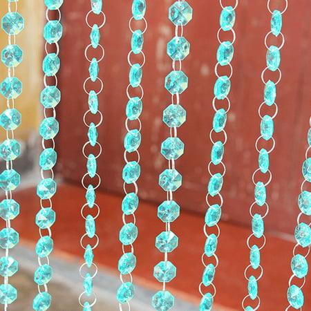 Acrylic Crystal Rhinestone Bead Garland Curtain Chandelier Accessories Wedding Home Decoration DIY Accessories