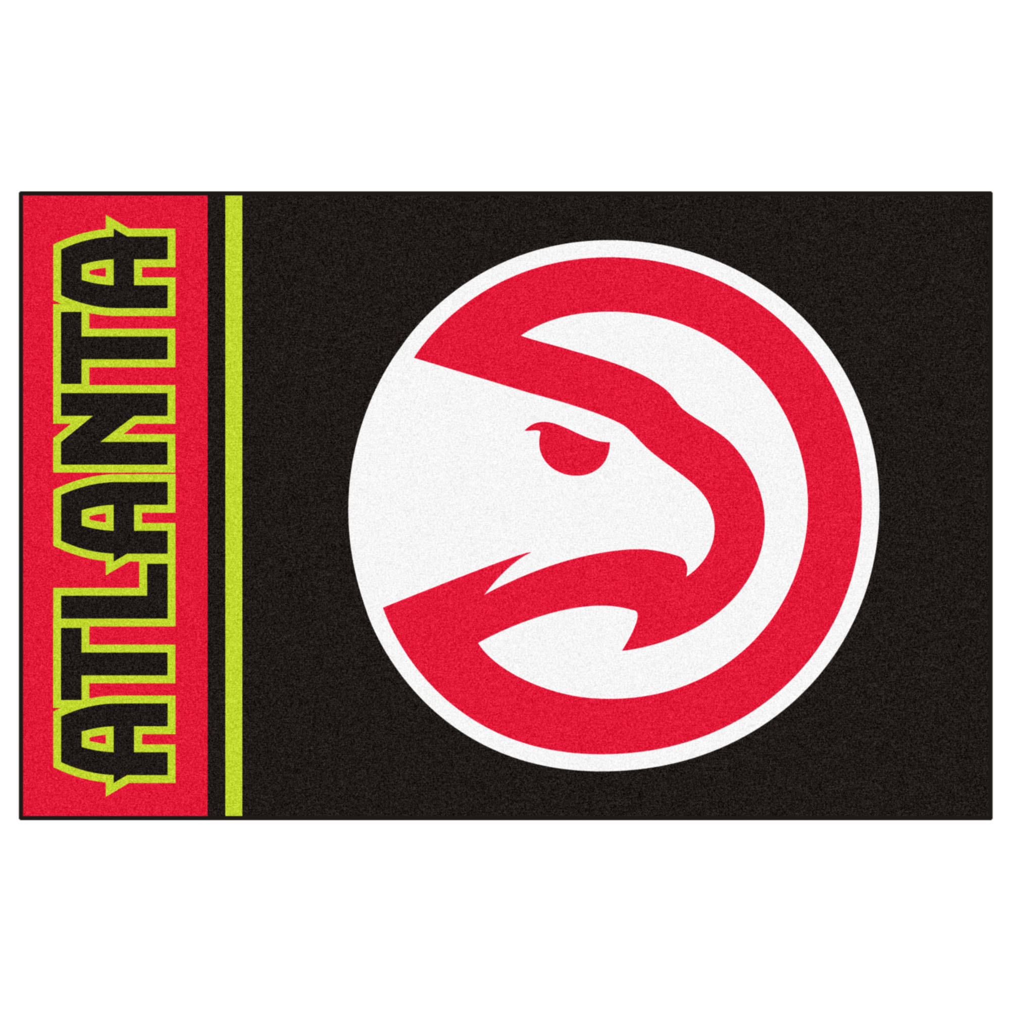 NBA Atlanta Hawks Starter Mat Rectangular Area Rug